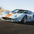 1968 Ford GT40 and Le Mans Camera Car Crossing Auction Block