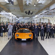 Lamborghini celebrates the end of production of Murciélago