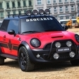 'Red Mudder' MINI created by DSQUARED for Life Ball