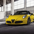 Alfa Romeo 4C Spider revealed in Detroit