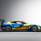 Aston Martin Partners with Bilstein for Livery of V12 Vantage
