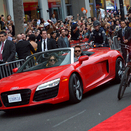 Audi Partners with Iron Man 3 to Promote R8 on Red Carpet