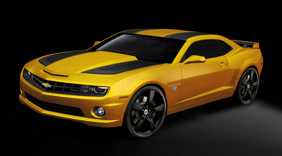 Bumblebee Returns Bringing A Special Edition Camaro With