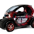 David and Cathy Guetta Market Special Edition Renault Twizy