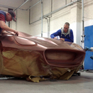Design Students Create Essence of Jaguar Design in Copper