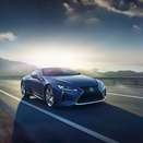 Hybrid sports car LC500h launched by Lexus