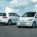 Volkswagen Adding Electric e-Golf and e-Up in Frankfurt