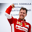 Strategy gives win to Vettel and Ferrari