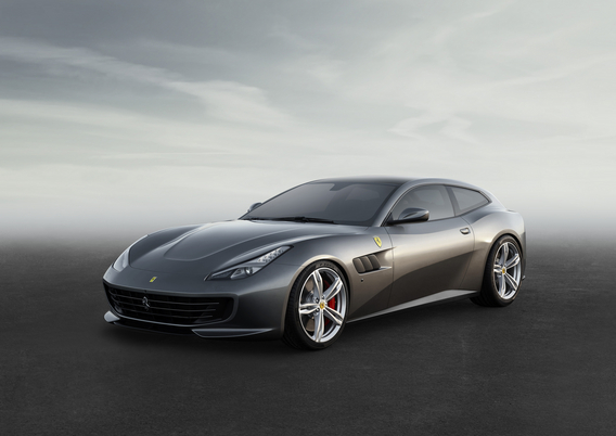 Ferrari FF changes name to GTC4 Lusso