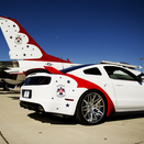 Ford Builds One-Off Mustang for U.S. Air Force Thunderbirds