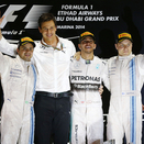 Hamilton confirms world title in Abu Dhabi