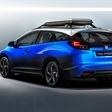 Honda Civic Tourer Active thought for cyclists