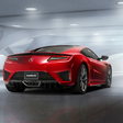 Honda reveals production version of the NSX
