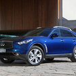 Infiniti Refreshes FX for Europe with Unchanged Prices