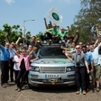 Land Rover Completes Hybrid Trek from England to India