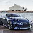 Lexus LF-LC Gets Painted Blue for Australia; Rumored to be Built
