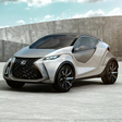 Lexus previews future city car with LF-SA