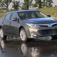 Lighter Gasoline and Hybrid Toyota Avalon Nearly Ready to Go on Sale in US
