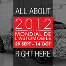 Live Updates: 2012 Mondial de l'Automobile Paris