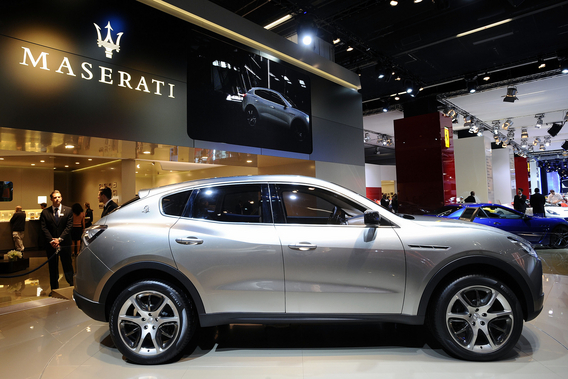 maserati crossover might be called cinqueporte news. Black Bedroom Furniture Sets. Home Design Ideas