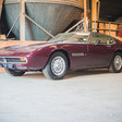 Maserati Ghibli Found After 14 Years of Storage; Up for Auction