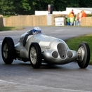 Mercedes and Audi Pre-War Grand Prix Cars Racing at Goodwood Revival