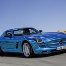 Mercedes-Benz SLS AMG Coupé Electric Drive Debut