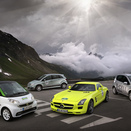 Mercedes Entering 7 Cars into Silvretta E-Car Rallye