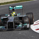 Mercedes Takes Front Row of Spanish Grand Prix