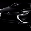 Mitsubishi launching concept in Paris