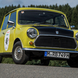 Mr. Bean's Mini Racing in Youngtimer Rally in Spa