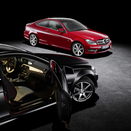 New C-Class Coupé: new compact, classic coupe to debut in Geneva