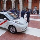 Nissan delivers first electric taxis in Spain