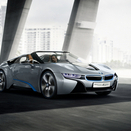 New BMW i8 Spyder concept at the CES