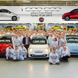 One Millionth Fiat 500 Built in Poland
