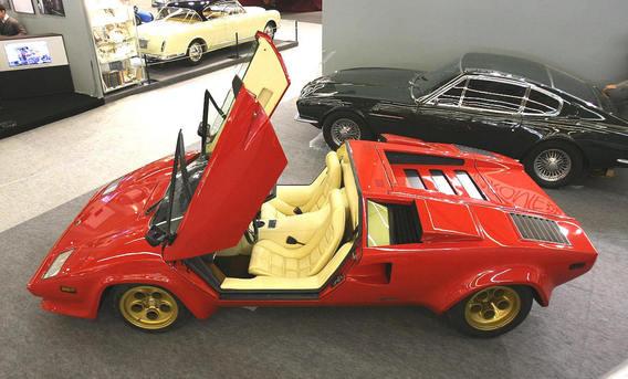 One Off Lamborghini Countach Targa Owned By Rod Stewart
