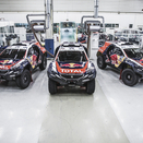 Peugeot ready for the Dakar