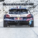 Peugeot Tests 208 T16 Pikes Peak at Mont Ventoux for Practice