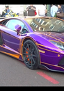 Qatari Royal's Glow-in-the-Dark Aventador Impounded in UK