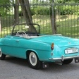 Rare 1961 Skoda Felicia Cabrio Doing 430km Alpine Rally