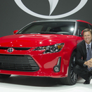 Refreshed Scion tC Revealed in New York with New Front End