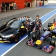 Renault Megane R.S Red Bull Racing RB7 Celebrates Renault/Red Bull Success