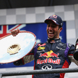 Ricciardo wins with Mercedes' collission