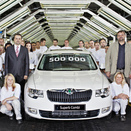 Skoda Builds 500,000th Superb at Kvasiny factory