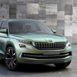 Skoda previews new SUV with the VisionS