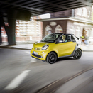 Smart fortwo cabrio will be unveiled in Frankfurt