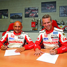 Tiago Monteiro and Gabriele Tarquini Will Race for Honda in WTCC in 2013