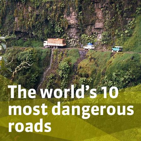 Top 10 most dangerous roads news autoviva com