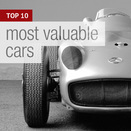 TOP 10 most valuable cars of all time