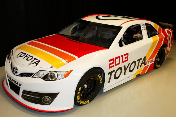 Toyota Using 70s Livery For 2013 NASCAR Camry With Video
